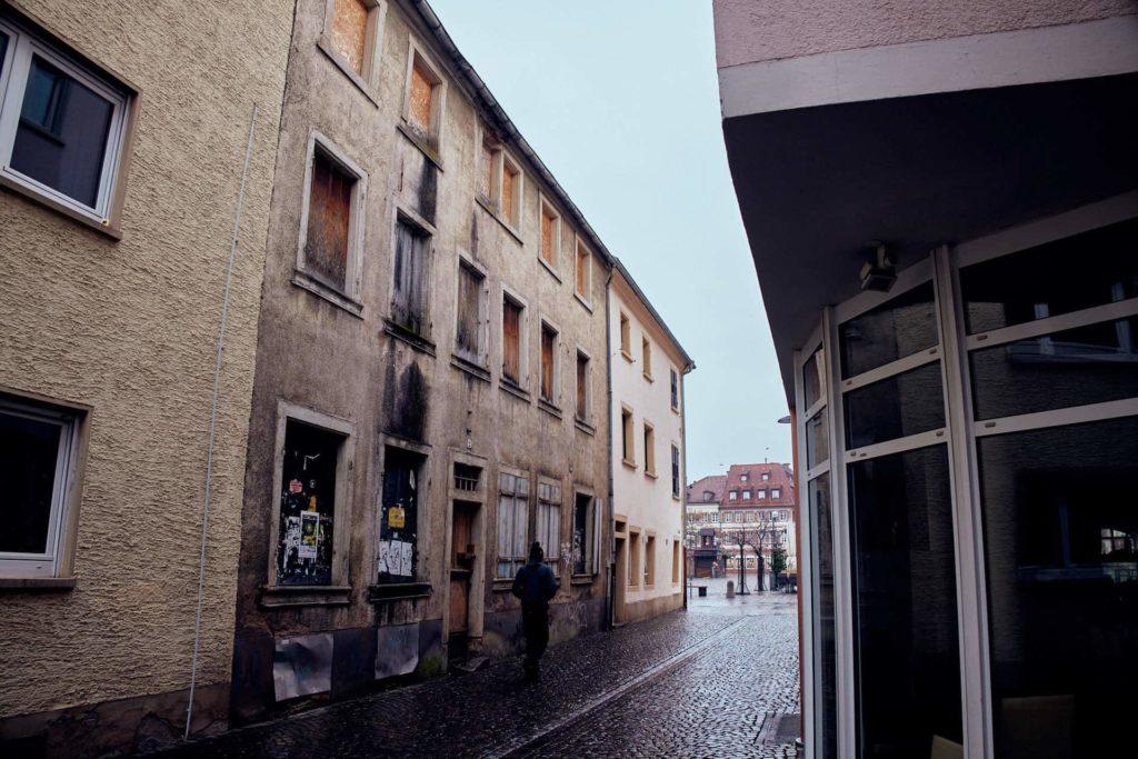 Leerstand im Stadtzentrum (Foto: Niko Martin/ thegood.media)