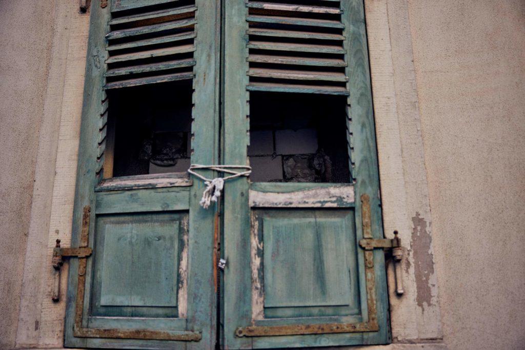 Mauer statt Fenster (Foto: Niko Martin/ thegood.media)